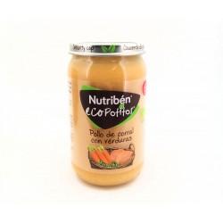 Nutriben Eco Potito Pollo de Corral con Verduras 235GR
