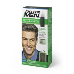 CHAMPU JUST FOR MEN CASTAÑO MEDIO