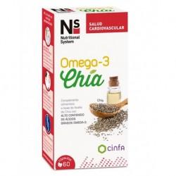 NS Omega-3 Chía 60 Capsulas