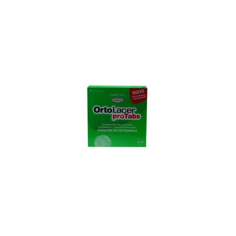 ORTOLACER  PROTABS 20 Comprimidos