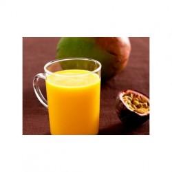 Batido de mango y fruta de la pasión