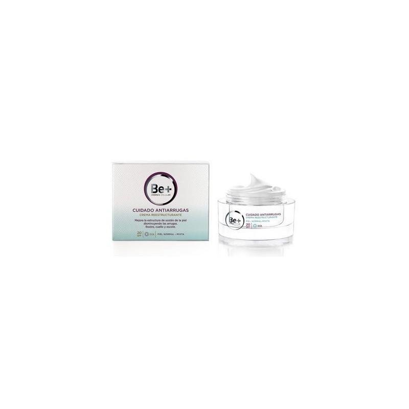 Be+ Antiarrugas reestructurante piel mixta spf 20 50 ml