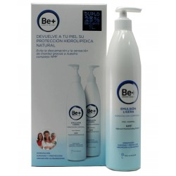 Be+ Duplo Corporal Emulsion Ligera Piel Normal 2 x 500 ml