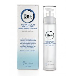 Be+ 24h Emulsion facial rica desensibilizante