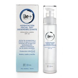 Be+ 24H Emulsion Facial Ligera Desensibilizante Spf 20 50 ml