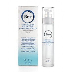 Be+ 24H Emulsion Facial Piel Seca Desensibilizante Spf 20 50 ml