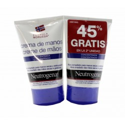 Neutrogena Duplo Crema de Manos Concentrada 50 ml + 50 ml