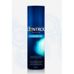 LUBRICANTE CONTROL SEX SENSES GEL NATURE 50 ML
