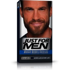 Just For Men Bigote y Barba Castaño Claro 30 ml