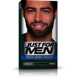 Just For Men Bigote y Barba Moreno 30 ml