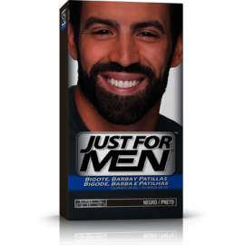 Just For Men Bigote y Barba Negro 30 ml