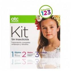 Otc Antipiojos Kit 123 Sin Insecticida (Loción +Acondicionador+Spray)