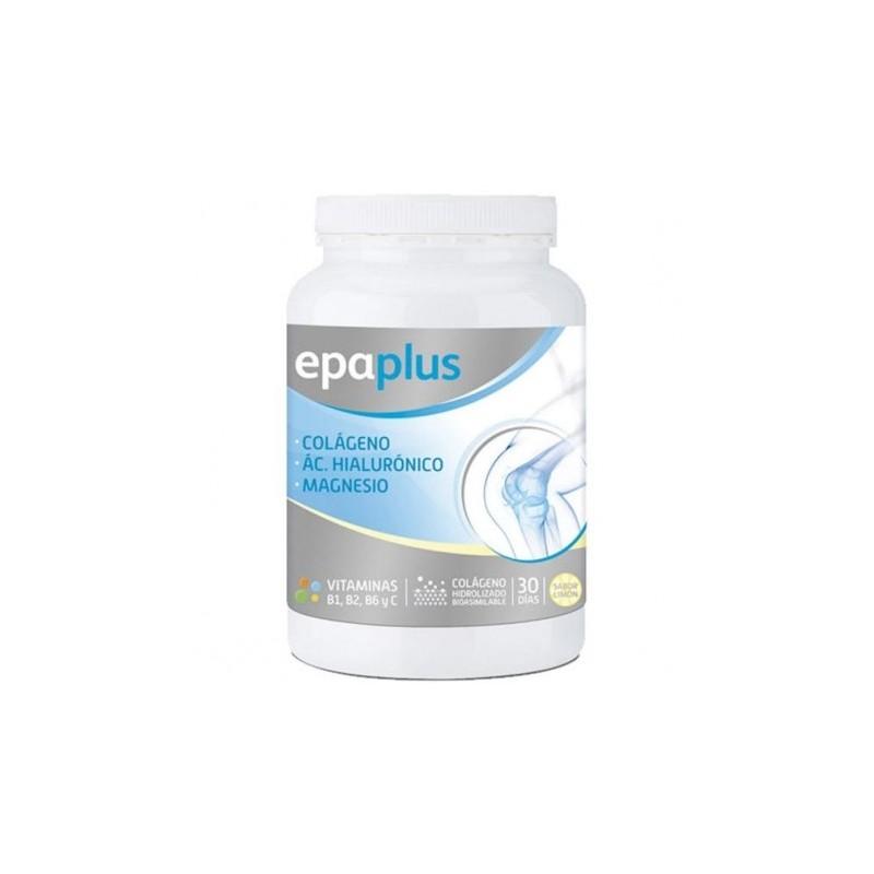 Epaplus colágeno + hialurónico + magnesio limón 332g