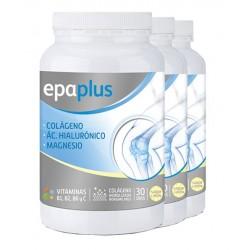 Pack 3 Unidades Epaplus Colágeno + Hialurónico + Magnesio Limón 332G