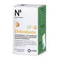 ns Cinfa Defenbiotic Kids 60 Comprimidos Masticables