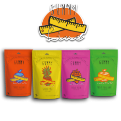 Gummy line sabor piña unids