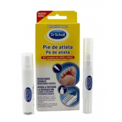 Dr Scholl Pie de Atleta Lápiz 4 ml + Spray 10 ml