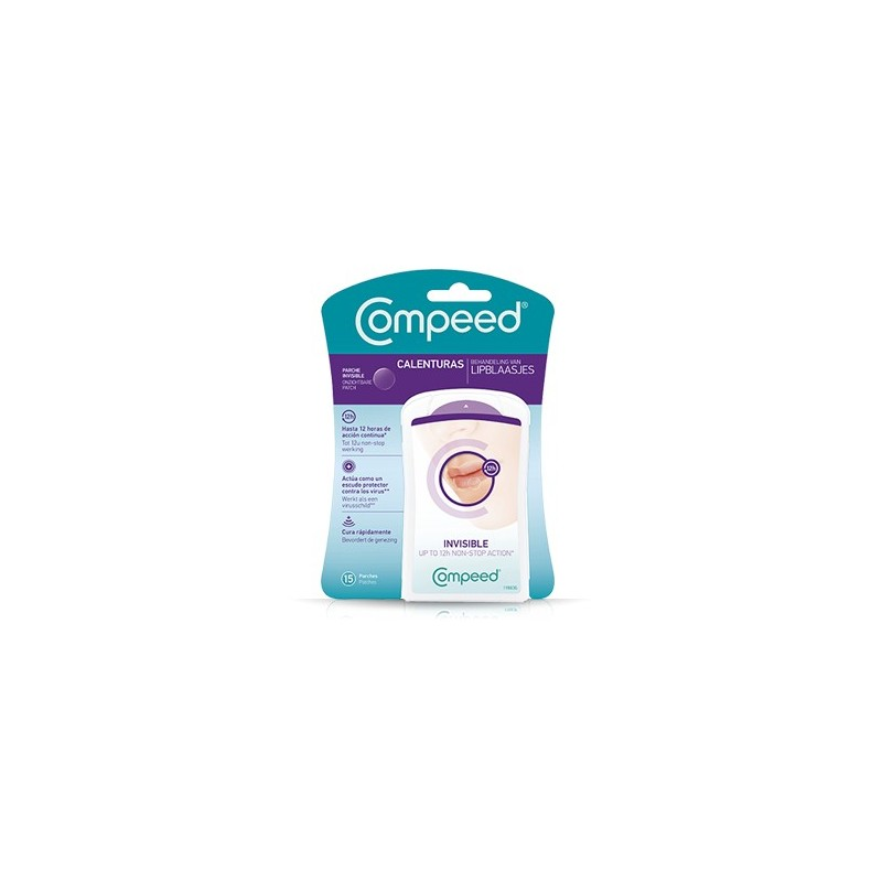 COMPEED Compeed Calenturas Total Care 15 Parches