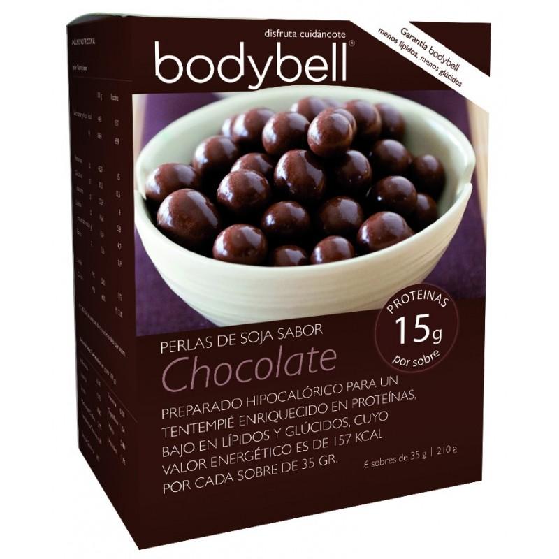 Perlas Soja-Chocolate Caja 6 Sobres