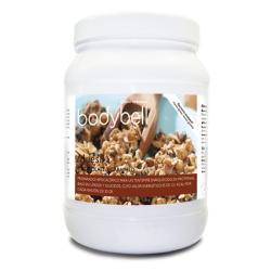 Bote Muesli Chocolate y Caramelo 450 Grs.