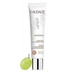 Caudalie Vinoperfect Fluido Con Color Piel Perfecta FPS20 Medium 40 ml