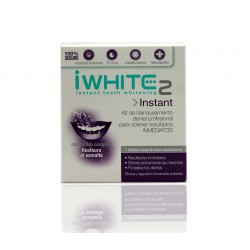 I White instant 2 moldes blanqueadores x 10 unidades