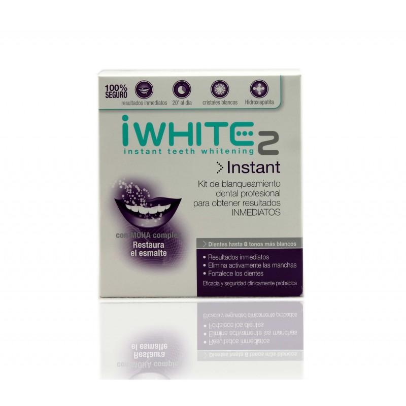 I White instant 2 moldes blanqueadores x 10 unidades