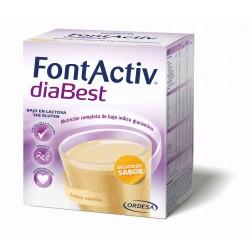 Fontactiv Diabest Diabéticos Sabor Vainilla 7X52g