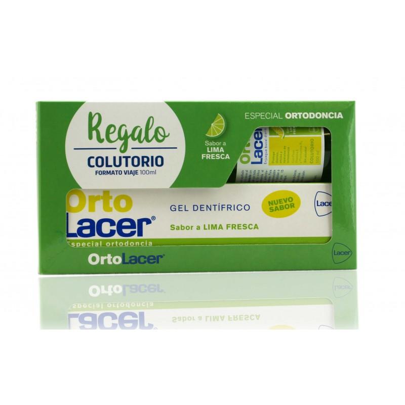 Lacer ortolacer gel lima 75 ml + gratis colutorio 100 ml