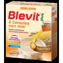Blevit plus  superfibra 8 cereales miel 600 gr
