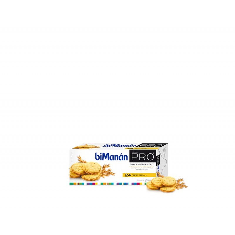 Bimanan Pro Galletas Limon Vainilla 156 g
