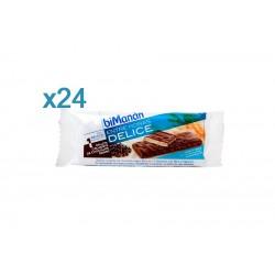 Bimanan Entre Horas Galleta Crujiente Chocolate Negro 24 Uni 20 g Expositor