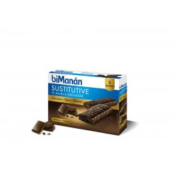 Bimanan Barrita Chocolate Intenso 8 Uni 40 g