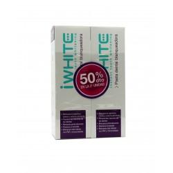 i White Duplo Pasta de Dientes Blanqueadora 2x 75 ml
