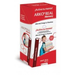 Arkoreal Memory Jalea Real + Vitaminas + Omega 50 Barritas 25 g