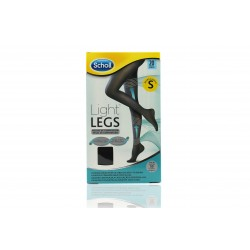 Dr Scholl medias de compresión light legs  NEGRO 20 den talla S
