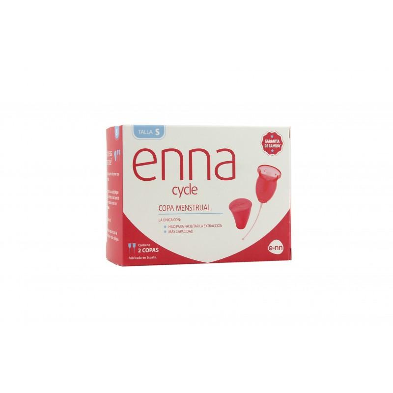 Enna 2 copas menstruales + esterilizador talla S