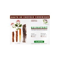 KLORANE QUINAFORT CAIDA CRONICA 12 AMP 5 ML