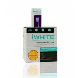 I White blanqueador 10 moldes manchas oscuras + GRATIS cepillo con micropartículas limpiadoras.