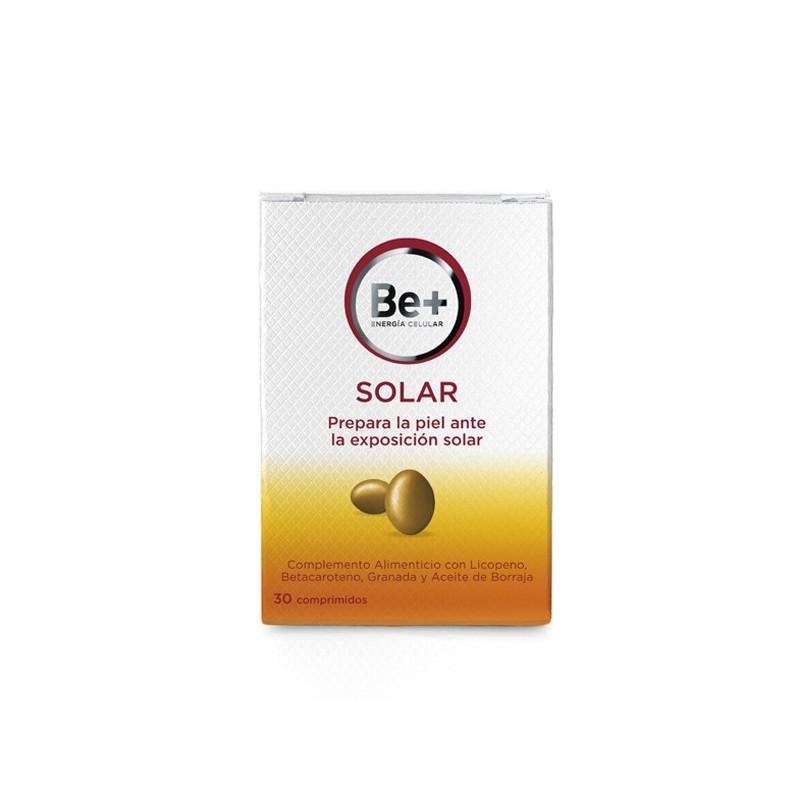 Resultado de imagen de imagen be+ comprimidos solares