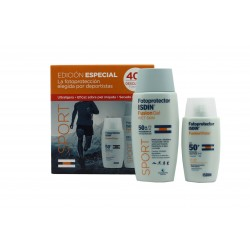 Isdin pack fotoprotección fusion water  + Fusion Gel wet skin