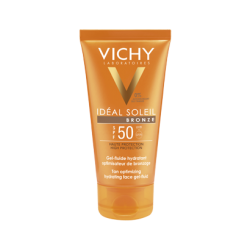 Vichy Ideal Soleil Gel Facial  Bronze Spf 50 50 ml