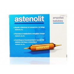 Astenolit 12 ampollas bebibles 10 ml