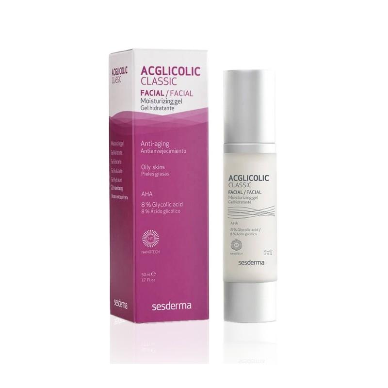 Sesderma Acglicolic hidratante 8% glicolico gel 50 ml