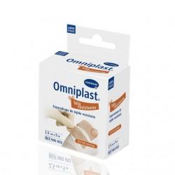 Omniplast Esparadrapo Hipoalergico Tela 5X1.25 (5 m x 1.25 Cm) Rosa