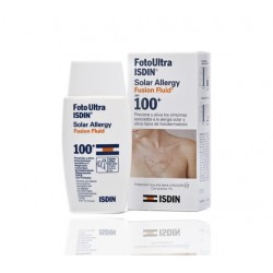 Isdin Fotoprotector Fotoultra Allegy F100+ Fusion Fluid Allergy 50 ml
