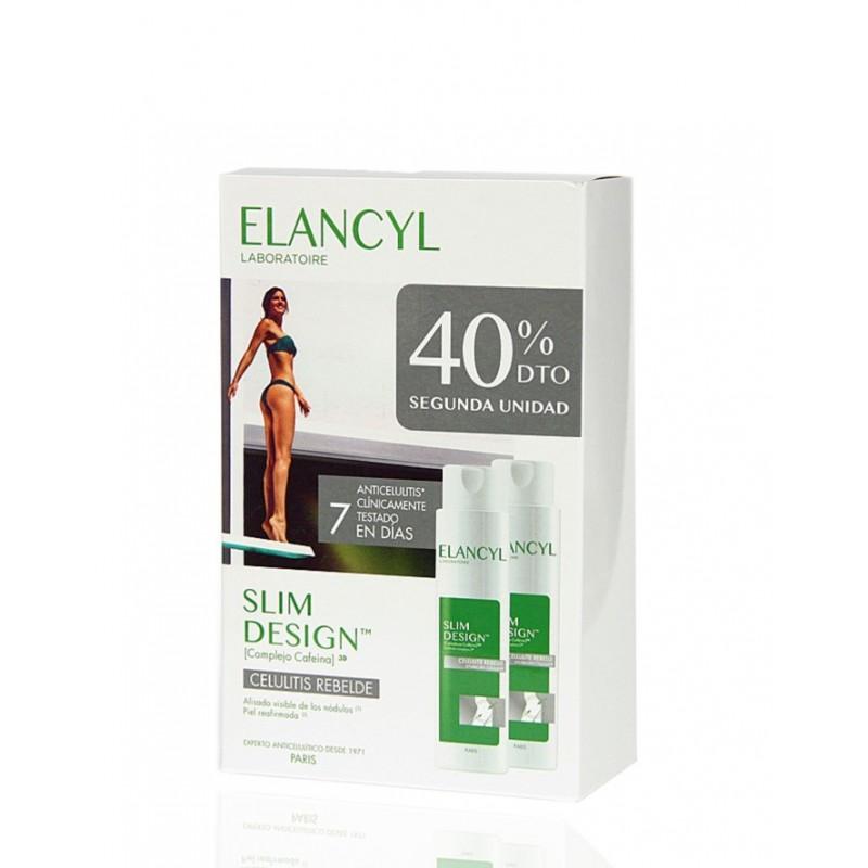 Elancyl Slim Desing Celulitis Rebelde Pack 2 x 200 ml