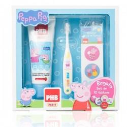 Phb Pack Gel Dentifrico Infantil Peppa Pig 75 ml + Cepillo  + Regalo