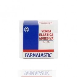 Farmalastic Venda Elastica Adhesiva Beige 4.5X5