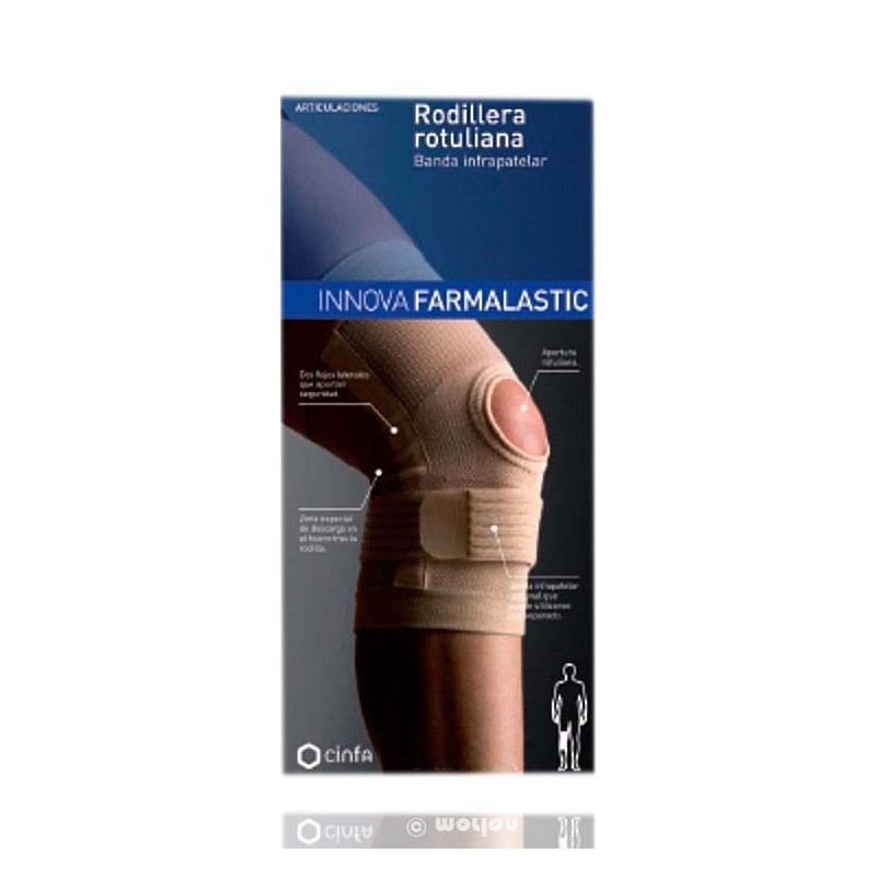 Farmalastic Rodillera Rotuliana Banda Infrapatelar Med